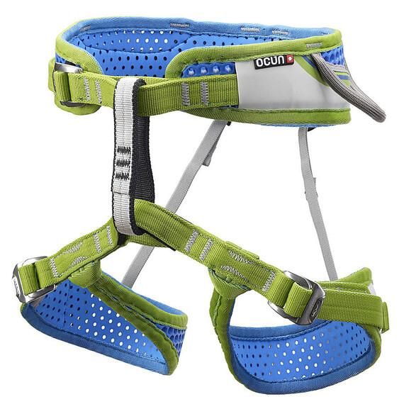 Ocun Webee 3 Klettergurt : Ocun webee harness kid blue campz